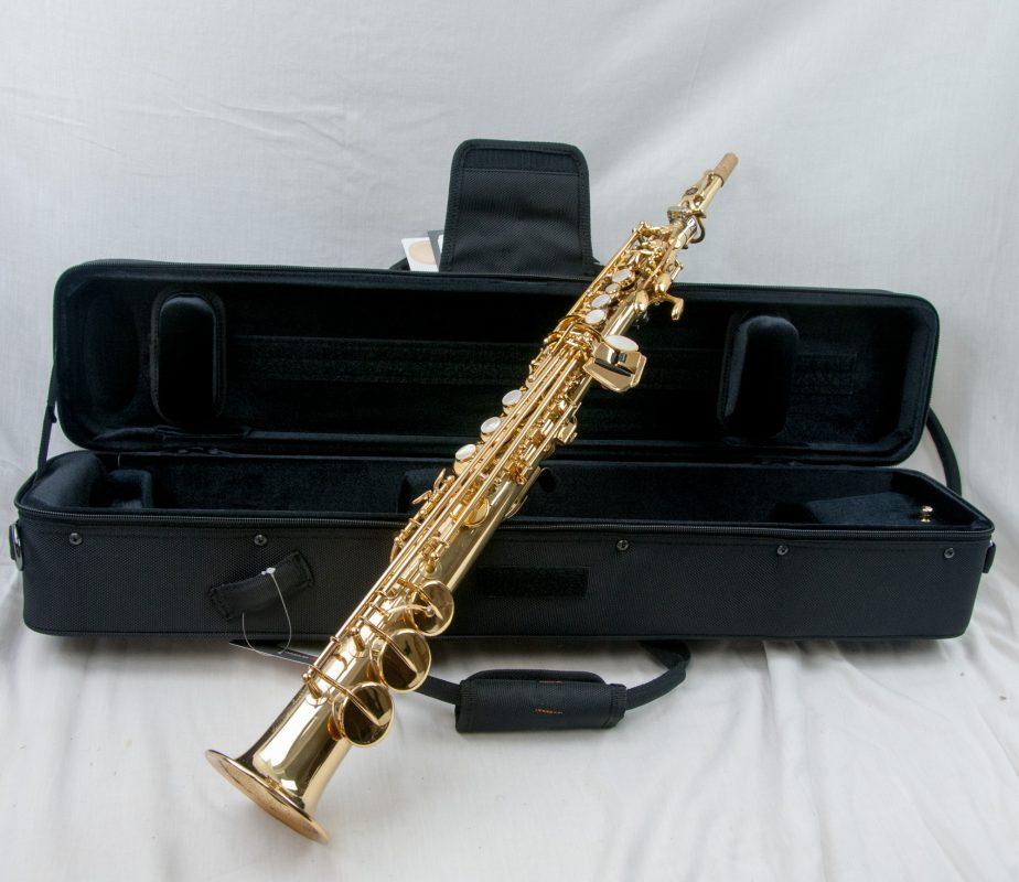 yamaha yss 875 professional soprano saxophone superb player beautiful sound ebay. Black Bedroom Furniture Sets. Home Design Ideas