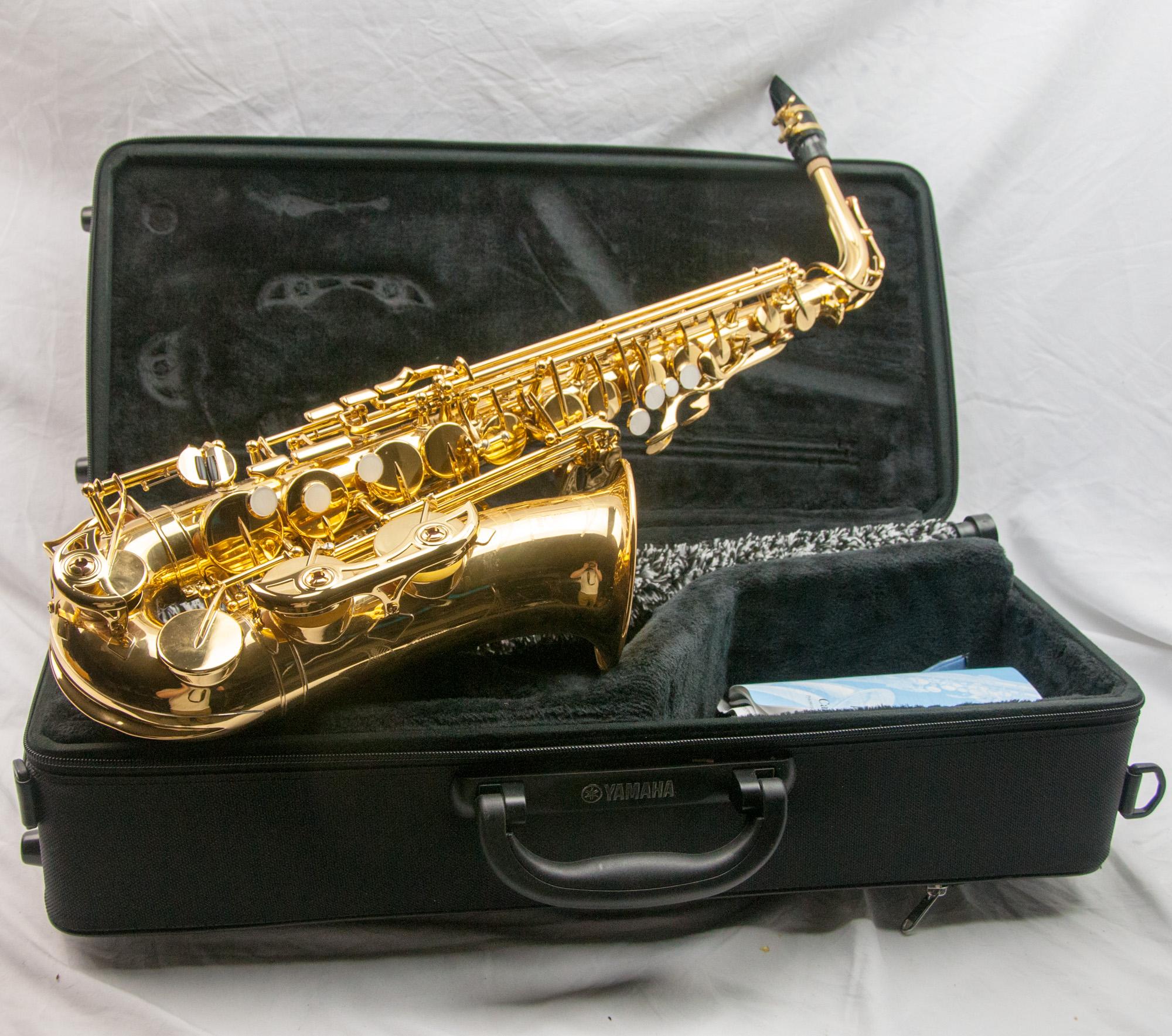 Yamaha YAS-480 Alto Saxophone (Used) #U17965